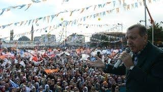 Başbakan Recep Tayyip Erdoğan Yerel Seçim Mitinglerini Sivas'tan Başlattı