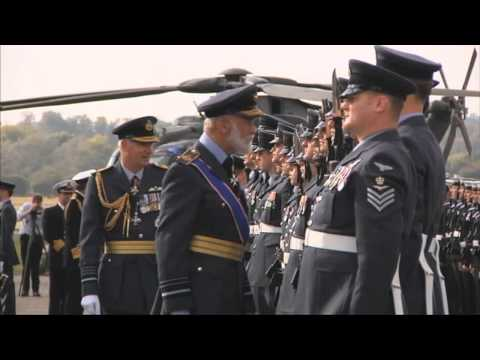 Royal Air Force Hand Over Merlin To Royal Navy
