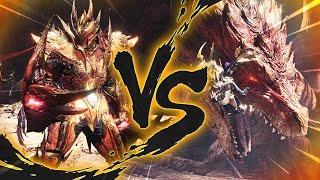Monster Hunter World Iceborne | 4 BRAVE HUNTERS VS. A GIANT RED DRAGON