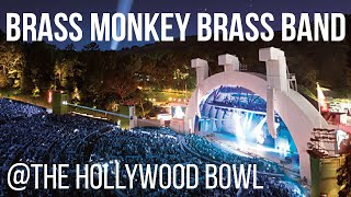 Brass Monkey Brass Band @ The Hollywood Bowl playing Led Zeppelin's The Ocean