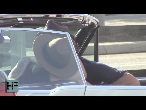 Video of Lady Gaga Making Out With Fiancé in Car