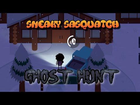 Sneaky Sasquatch - Ghost Hunt (the Haunted Ski Resort) [Apple Arcade]