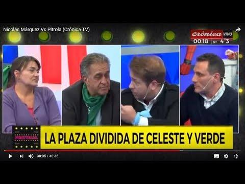 Nicolás Márquez Vs Elementos De Ultraizquierda (Crónica TV - Argentina)
