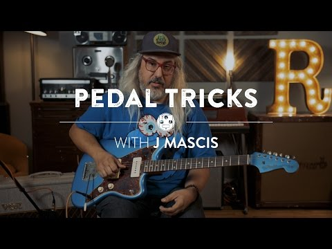 How to Stack Fuzz and Drive Pedals with J Mascis of Dinosaur