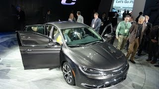 Watch the 2015 Chrysler 200 debut at the Detroit Auto Show