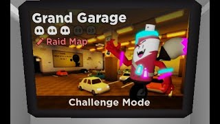 (Roblox Tower Heroes)Cool Garage