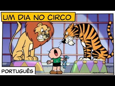 Um dia no circo (2002) | Turma da Mônica