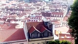 Лиссабон. Вид на город.