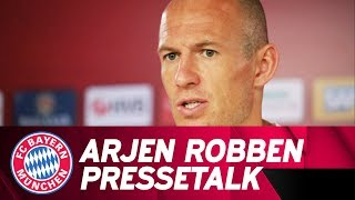 Practice, Sleep, Practice: Arjen Robben on the Preseason under Niko Kovac