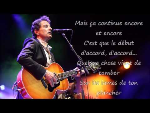 Francis Cabrel - Encore et encore Paroles