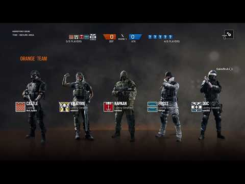 Rainbow six siege Gameplay