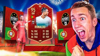 I GOT RED RONALDO! (FIFA 20 PACK OPENING)