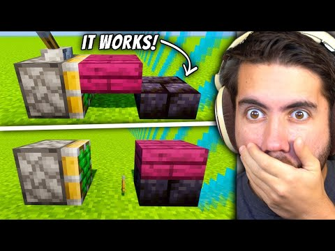 Testing Game Breaking Minecraft Glitches To See If They Work - LoverFella