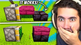 Testing Game Breaking Minecraft Glitches To See If They Work