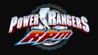 Power Rangers R.P.M 3/4 - Theme Song
