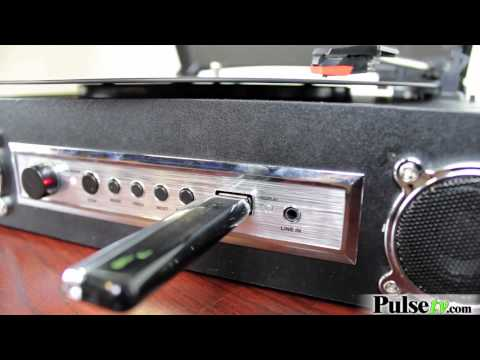 Direct To USB Recording MP3 Turntable Hype HY-2008