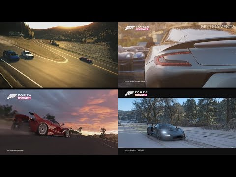 All Forza Horizon Games E3 Trailer Announcements (2012 - 2018)