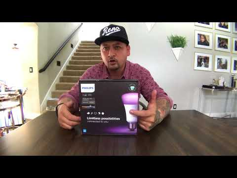 Philips Hue Lightbulb Starter Kit Unboxing!