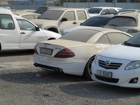 Dubai's car impound