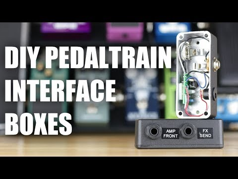 How To: Build Input Buffer and Output Interface Boxes for Pedaltrain Pedalboards