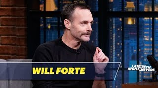 Will Forte Regifted a Pillow with a Very Graphic Picture on It to His Mom