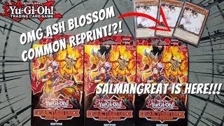 Yugioh Structure Deck: Soulburner Opening! ASH BLOSSOM COMMON REPRINT!!! OMG IMPOSSIBLE TO FIND?!?