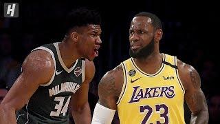 Gambar cover Milwaukee Bucks vs Los Angeles Lakers - Full Game Highlights | March 6, 2020 | 2019-20 NBA Season