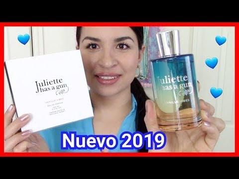Perfume Vanilla Vibes de Juliette Has a gun