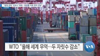 "[VOA 뉴스] ""세계 경제 '코로나' 여파…대공황 이후 최악 전망"""