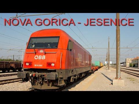 Cab ride (Führerstandsmitfahrt) Nova Gorica - Jesenice