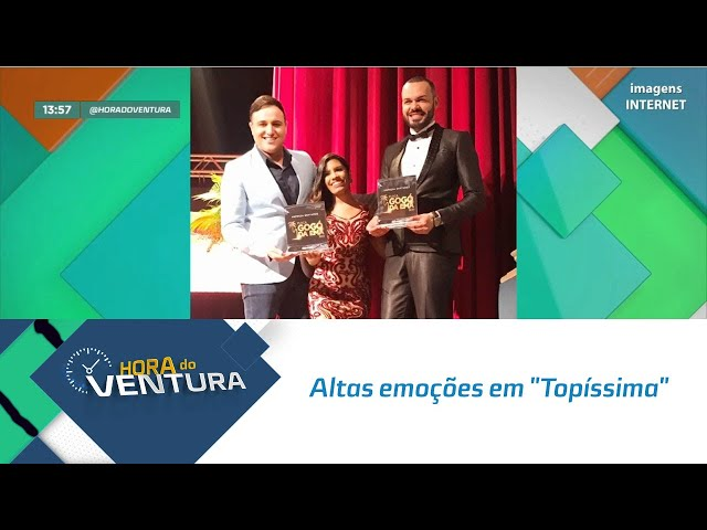"""Altas emoções na novela """"Topíssima"""" - Bloco 01"""