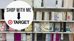 Shop With Me   Target Planners