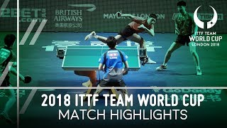 2018 Team World Cup Highlights I Ma Long/Xu Xin vs Koki Niwa/Jin Ueda (Final)