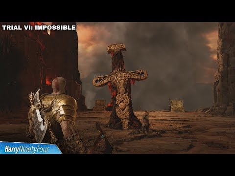 God of War - All Impossible Musphelheim Trials (Fire and Brimstone Trophy Guide)