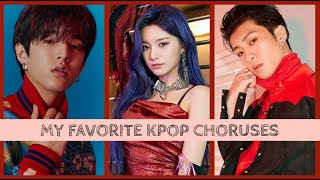 superior kpop choruses || my favorites
