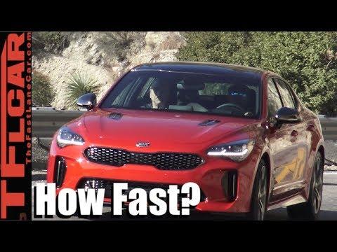 2018 KIA Stinger Review Is It Faster Than a Porsche Panamera