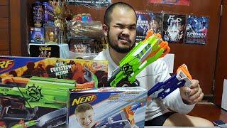 Toy Review : แกะกล่องปืน😁😁😁Nerf Gun Zombie Strikeราคาโคตรถูก หลังToy Huntมา😎😎😎