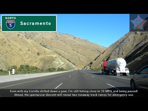 (S06 EP13) I-210 West and I-5 North, Arcadia to the Grapevine