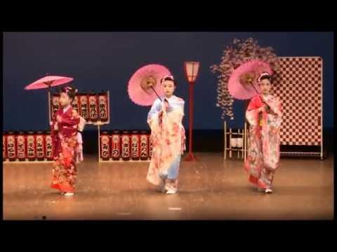 日本舞踊-2014-絵日傘- - YouTub...