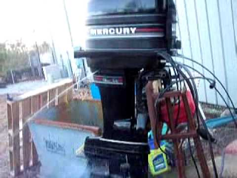 mercury classic 50 outboard motor youtube. Black Bedroom Furniture Sets. Home Design Ideas