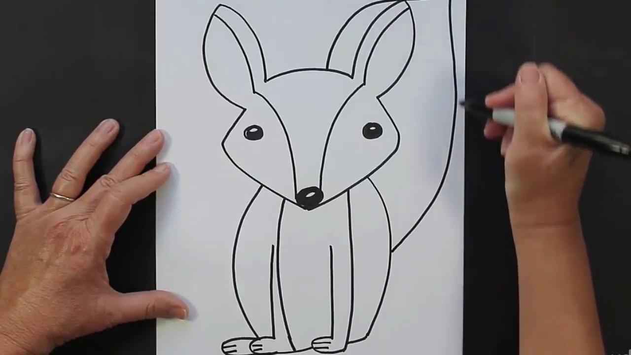 رسم الكرتون خطوة بخطوة للأطفال - YouTube