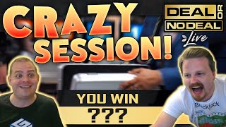 Crazy Session on Deal or No Deal Live!