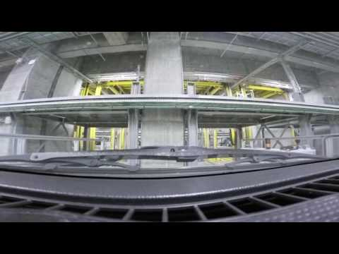 Europe's biggest robotic car park below Scandinavia's largest library