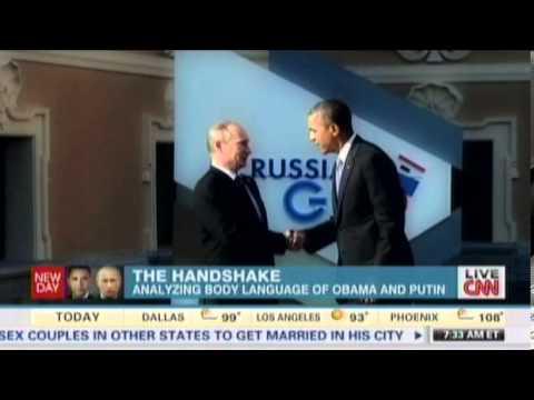 Body Language Expert Decodes Handshake Between President Obama and Putin