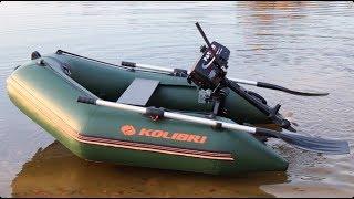 Обзор лодки Колибри КМ-200 от Kapitan.UA (Kolibri KM-200) Стандарт