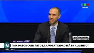 SIMONELLA SOBRE LA GIRA DE GUZMÁN NO HUBO DATOS CONCRETOS