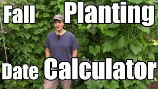 Fall/Winter Planting Date Tools & What We're Planting Now in Zone 5