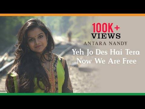 Yeh Jo Des Hai Tera| Swades| Now We Are Free| Gladiator| Cover Version - Antara Nandy & Keethan