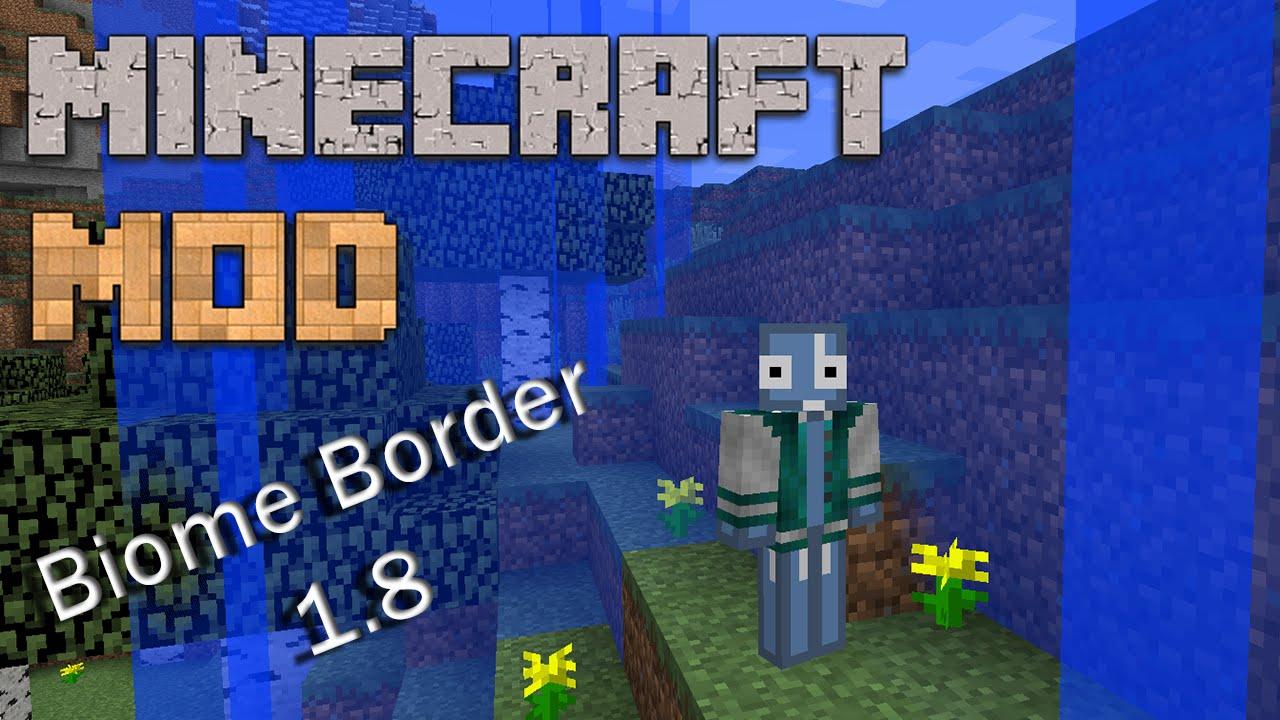 Minecraft Mods Biome Border Mod Showcase YouTube - Minecraft lan spielen mit mods