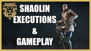 [For Honor] Shaolin, First Gameplay & Executions!